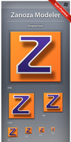Icon Zanoza Modeler by ncrow