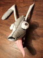 Rabid Rabbit plush toy 2 by LeanaeffaY