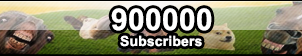 Button - 900000 Subscribers! by Mark-Buttons
