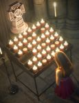 Votive Candles And Stand by joelegecko