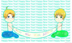 Happy new year 2013! by xbubblegumprincess