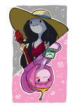 PB and Marceline by CraigArndt