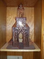 fretwork clock by Sawdust013