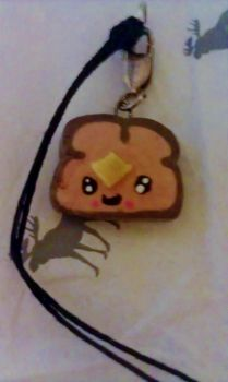 Polymer Clay Toast 2 by DeathcupcakeX3