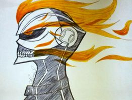 ghost rider by UndertakerisEpic