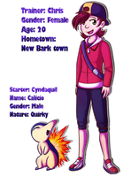HG Nuzlocke Trainer and Starter by CrispyCh0colate