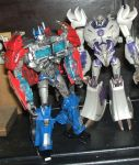 Transformers Prime - Optimus face mod - voyager 03 by Mechanic-Star