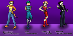 Judges Outfits by BlackNightingGale