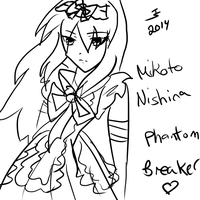 Phantom Breaker - Mikoto Nishina by Tibby-san