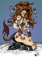 Sexy Demoness by ZoeStead
