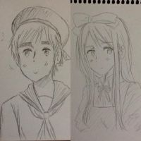 Some Traditional Drawings by Akiraka-chan