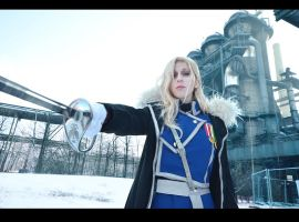 FMA: Major General Olivier Armstrong by Green-Makakas