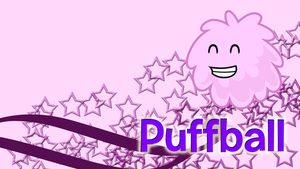 Puffball Wallpaper by kitkatyj
