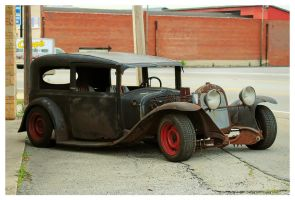 A Rat Rod Under Constuction by TheMan268