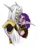 Warcraft: Baelmah and Isaura by youkobutt