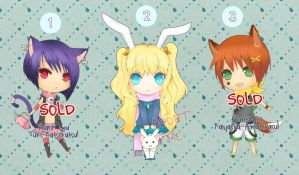 Adoptable Set 1 - auction - [open] by r3nisa