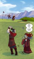 Everyday Zhao...Golf by rufftoon