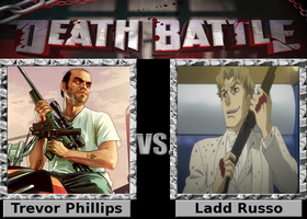 Death Battle: Trevor Phillips vs. Ladd Russo by SpikeJet2736