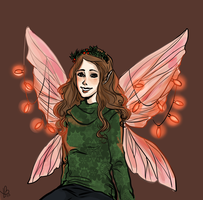 Christmas Titania by LilyScribbles