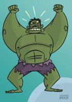 The Incredible Hulk by tyrannus