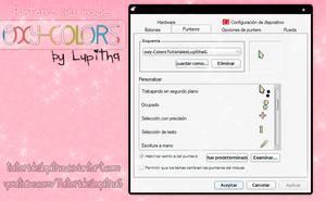 Oxy-Colors cursores. by tutorialeslupitha