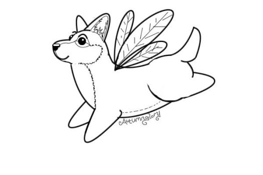 Fairy Corgi by CatwingsV