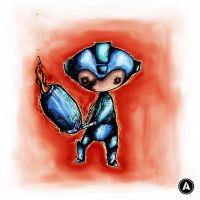 Megaman's Bad Day by AdanMGarcia