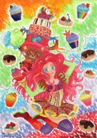 pinkie pie and chopper - dessert version by ImthenD