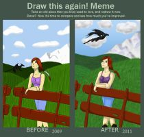 Before-After Meme by M-Iris