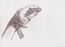 Red hand by AnnVanes