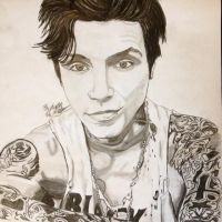 Andy Biersack Vocalist Black veil Brides finished by xxdaswarwohlnix