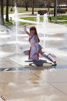 Kasumi Fountain Stance by HollyGloha