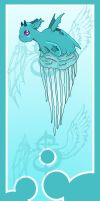 Jellyfish dragon Bookmark by Reveta