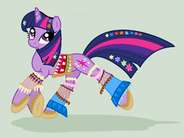 Twilight Flowerchild by SJArt117