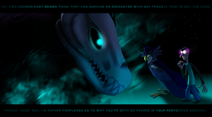 Bringers Of Fear Gift Art by Gamma Wings by Leeanix