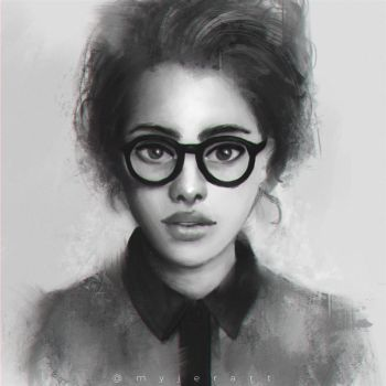 Portrait Study by myjerart