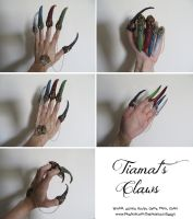 Tiamat's Claws- Cosplay Sneak Peak by TalonArt