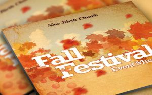 Fall Festival CD Artwork Template by loswl