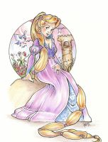 Rapunzel by snoprincess