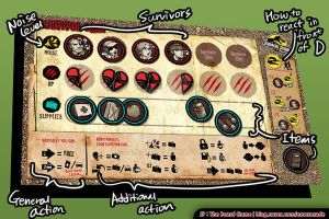 Jurassic Park The Board Game - ZQD Fanmade ver. by ZAQUARD