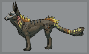 Lil' Skullmask Adoptable Auction || CLOSED by KhaosPen