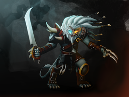 Tonight, we hunt ! Rengar by Eli-riv