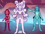 Pink Spanell and Apatite and Kunzite by CadbberryKat