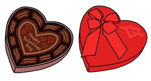 Walfas Custom Props - Valentine's Day Chocolate by grayfox5000