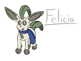 Felicia- Leafeon by Mystery-V
