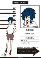 K OC Project: Shima Akio by Yazu-Jud