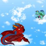 Big Dragon, Little Dragon by HitTheCeiling