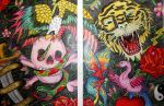 Ed Hardy full collage by Living-Life-Loud