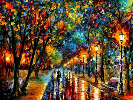 When dreams come true by Leonid Afremov by Leonidafremov
