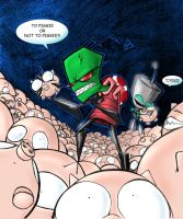 Invader Zim - by Danimation by icoman